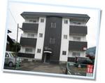 鯖江インター近くの2DK賃貸「メゾン・ボヌール・ヴィ」の外観です